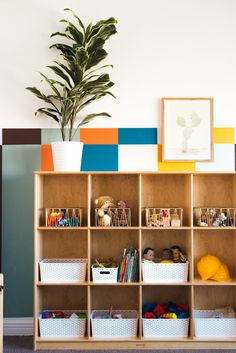 This colorful kids playroom is easy to create!