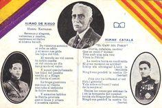 L'himne de Riego i El Cant del Poble amb imatges de Macià. Galán i García Hernández.