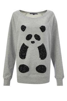 FCUK PANDA Sweater :)