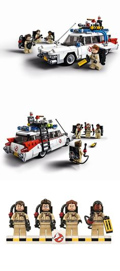 LEGO 21108 - Ghostbusters - Bought this real! Took me 3 hours to put together!