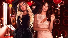 Tini Stoessel muestra su costado más latino (y sexy!) junto a Karol G Popular Artists, Most Visited, Sexy, Wonder Woman, Superhero, Female, Formal Dresses, World, Bella