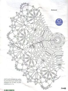 Crochet ideas that you'll love Crochet Doily Diagram, Crochet Mandala Pattern, Crochet Circles, Crochet Round, Crochet Chart, Crochet Home, Thread Crochet, Filet Crochet, Crochet Stitches