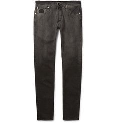 Alexander McQueen - Skinny-Fit Dégradé Stretch-Denim Jeans