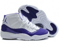75b79cce2e1 Air Jordan Retro 11 Women Shoes White Purple  BuyShoesLowCost Roshe Shoes