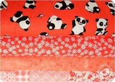 Coleção panda da Cris Mazzer.  É fofo ou não é?