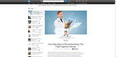 How Big Data Is Revolutionizing The Fight Against Cancer | Bernard Marr | LinkedIn