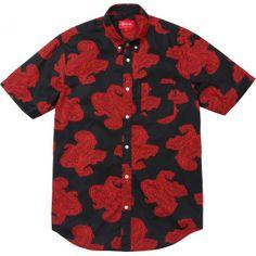 SUPREME -Paisley Shirt -THE SHAPE OF THE SEASON