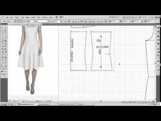 Model uygulamalı elbise kalıbı 8 / The model applied dress pattern 8