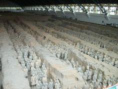 terracotta leger, Xian