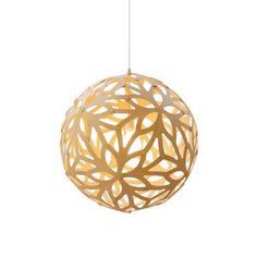 Floral is a wooden bamboo lamp, icon of the New Zealand's design and lifestyle - On sale at moaroomshop - Design Trubridge - Moaroom Luminaire Design, Lamp Design, Pendant Lamp, Pendant Lighting, Floral Lampshade, Bamboo Lamp, Bamboo Design, Wooden Lamp, Wood Colors