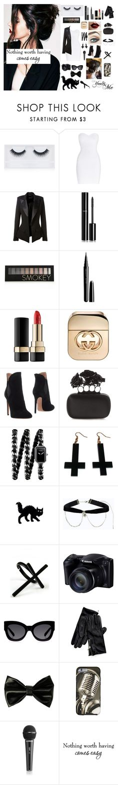 """""""#LANA DEL REY"""" by seniora ❤ liked on Polyvore featuring Georgie Beauty, Hervé Léger, Alexandre Vauthier, Chanel, Forever 21, Marc Jacobs, Dolce&Gabbana, Gucci, Alaïa and Alexander McQueen"""