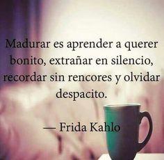 Disfruta esta tarde acompañado de las frases de Frida Kahlo. #FrasesDeFridaKahlo #FrasesCélebres