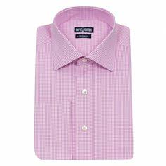 Chemise coupe classique en Vichy rose #chemise http://www.cafecoton.fr/nouveaux-cols/10390-chemise-coupe-classique-en-vichy-rose.html