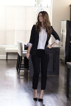 I love a good blazer but only have one. Would probably wear a bright colored shirt instead of white.
