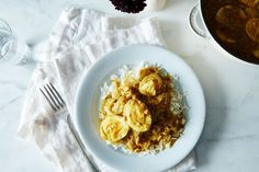 Caramelized Onion, Coconut, and Egg Curry  recipe on Food52