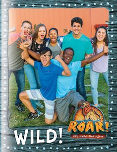 Wild! Youth Leader Manual - Roar VBS by Group