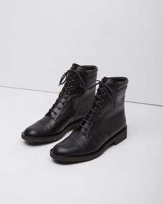 Robert Clergerie Elbie Lace-Up Boot