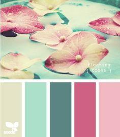 Ideas vintage wedding colors palette design seeds for 2019 Colour Pallette, Color Palate, Colour Schemes, Color Combinations, Green Palette, Color Tones, Cores Home Office, Design Seeds, Colour Board