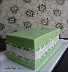 Pandan Layer Cake, Layer Cakes, The Joy Of Baking, Pudding Desserts, Chiffon Cake, Sponge Cake, Piece Of Cakes, Pinterest Recipes