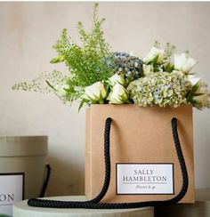 Sally Hambleton bags for flowers