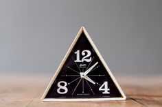 vintage linden black forest geometric alarm clock ▲ cast and crew