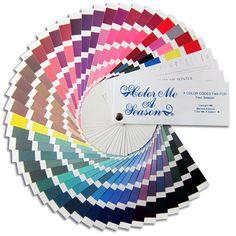 Color Fan - Winter - Color Me A Season Store