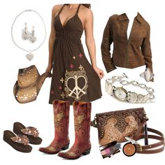 Cowgirl Country, created by krystalkesler on Polyvore