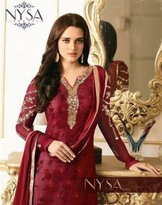 300c6d5879 Nysa Vol-8 Straight Inner Print Suits For Inquiry Whatsapp No +91  9512526279. Salwar SuitsSalwar KameezKurtiCatalog OnlineShalwar Kameez