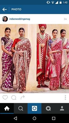 Lovely colors#faboulous flower prints #awesome blouses # one of them has a taj mahal print ...☺