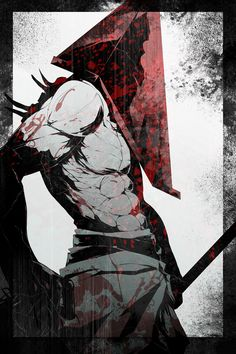 abs blood highres male focus muscle pyramid head s tanly silent hill solo - Image View - Horror Icons, Horror Films, Horror Art, Red Pyramid, Pyramid Head, Anime Meme, Black Poster, Silent Hill Art, Horror Video Games
