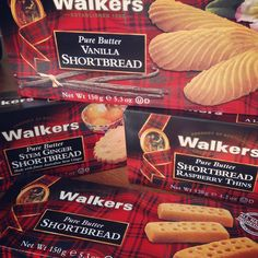 Pint Sized Baker: 4 Boxes of @Walkers Shortbread Giveaway