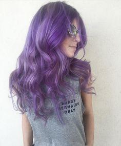 And then this pic too Bc how am I supposed to choose Tina Shores #salon202 #lavenderHair #pulpriothair @pulpriothair #theunicorntribe #btconeshot_color16 #btconeshot_rainbow16 #pravana #purplehair #bohohair #mermaidlife #mermaidians Caitlin Davis #sorrymermaidsonly #hairofinstagram #purple #hairgoals #pulpriothair #modernsalon #hairoftheday #beauty #americansalon Modern Salon @behindthechair_com @american_salon #hairfun #colormelt #coolhair by kellymccormickhair