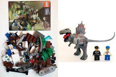 Jurassic Park Iii Spinosaurus Dinosaur Dino Lego Minifigure Lego Pinterest Parks