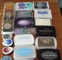 These are just a small sample of my ink pad stash! Many people are put off rubber stamping by the huge array of ink pads that are availab...
