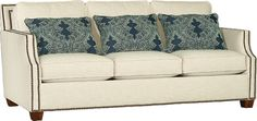 Mayo Furniture 4513 Fabric Sofa - Kurtz Linen