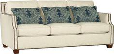 Mayo Furniture 4513F Fabric Sofa - Kurtz Linen