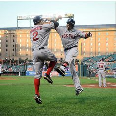 Mookie Betts and Xander Bogaerts - Boston Red Sox                                                                                                                                                     More