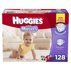 HUGGIES� Little Movers Diapers Giant Pack (Select Size) Diapers for Tristan..