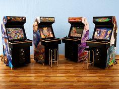 Criação de mais Modelos de Arcades