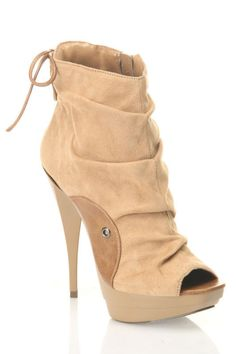 Michael Antonio Macall Ankle Boots In Tan - Beyond the Rack $29.99