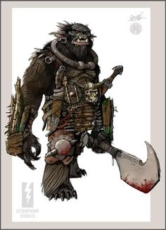 I love this bugbear pick. It sucks a bit that the Paizo version is so iconic as well.