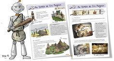cro magnon préhistoire bout de gomme Plus Cro Magnon, French Class, Teacher Resources, Science Nature, Kids Learning, Activities, Education, Comics, History