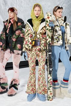 4dadaee9 Moncler 3 Grenoble Fall 2018 Ready-to-Wear collection, runway looks, beauty