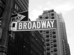 New York City. Specifically, Broadway.