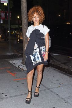 No matter what she's wearing (or not wearing), Rihanna always looks amazing. Good for her. No, really!