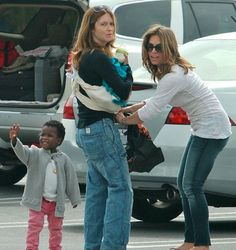 Jillian Michaels is a mommy...and her daughter is officially the cutest paparazzi greeter ever.