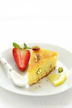 Dolce d'Amalfi, gâteau aux amandes et citron