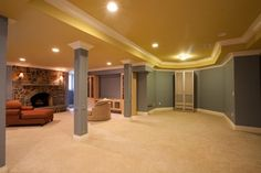 Basement Ideas, Sold by NJ Estates Real Estate Group Basement Designs, Basement Ideas, New Construction, New Homes, Real Estate, Design Ideas, Basements, Group, Luxury