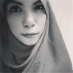 Grey in the dark #hijab