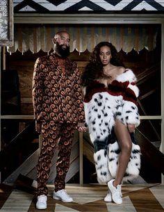 Love stylish couples that slay! Solange and her husband Alan Ferguson. Beastie Boys, Black Love, Black Is Beautiful, Beautiful Women, Beyonce, Mode Hip Hop, Streetwear, Stylish Couple, Solange Knowles